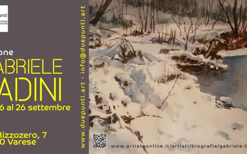 Mostra Gabriele Tadini